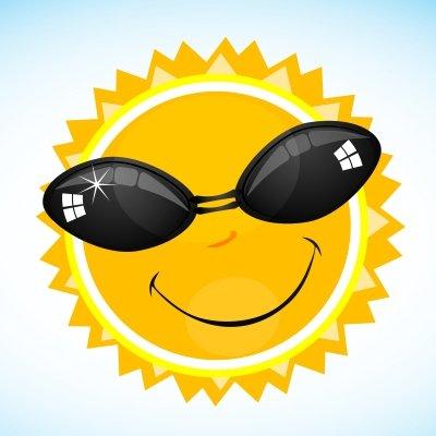 Bright, bright sunshiny day