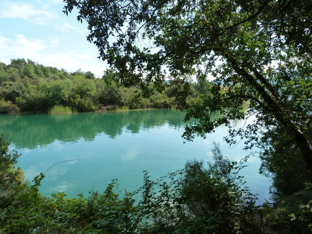 Lac de St Cassien – fun at the lake