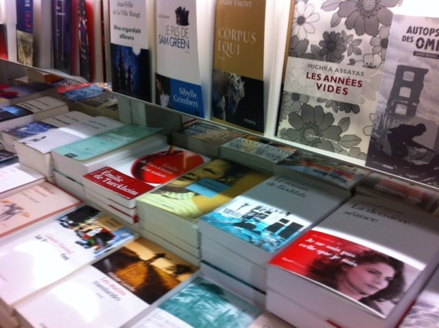 Watch out for new books; it's la rentrée littéraire!