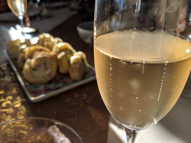 réveillon champagne
